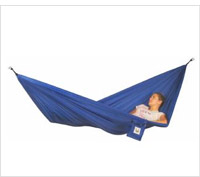 Product review of a camping hammock.