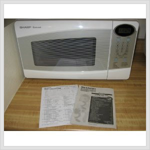 microwave oven for heating