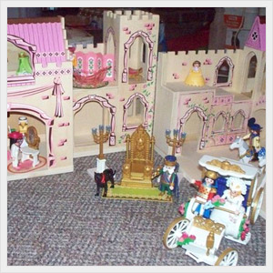 Princess Castle Playhouse.