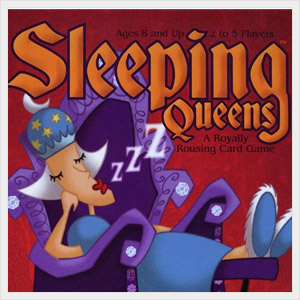 Sleeping Queens Card Game.
