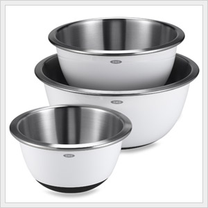 Stainless Steel Mixing Bowls.