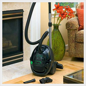 Electrolux Green Canister Vacuum Cleaner.